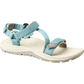 Columbia Big Water II Sandals Women teal/ancient fossil